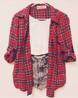 Oh, the flannel.