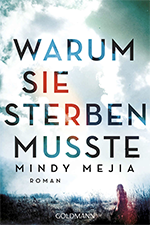 Mindy Mejia, Thriller Author, The Last Act of Hattie Hoffman, Germany version