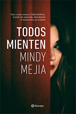 Mindy Mejia, Thriller Author, The Last Act of Hattie Hoffman, Spain version